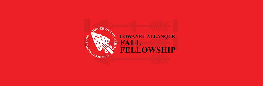 Order of the Arrow - Fall Fellowship